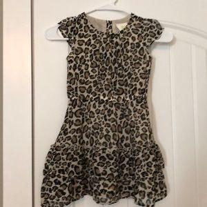 Crazy 8 Dresses - Girls Leopard Dress
